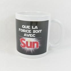 """Mug publicitaire Dark Maul STAR WARS """" Que la Force soit avec Sun """""""