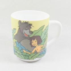 Taza El libro de la selva DISNEY ARCOPAL Mowgli Baloo Kaa Bagheera cerámica