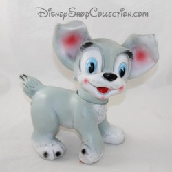 Pouet Scamp dog WALT DISNEY PRODUCTIONS The beautiful and the vintage tramp 22 cm RARE