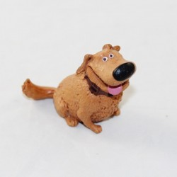 Figurine Doug chien DISNEY PIXAR Là-haut Up beige marron pvc 9 cm