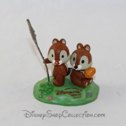 Squirrel photo holder DISNEYLAND PARIS Disney Tic and Tac statuette resin 6 cm