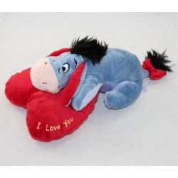 "Donkey Bourriquet DISNEY NICOTOY red heart "" I love you """