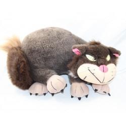 Peluche Lucifer DISNEYLAND PARIS couché chat Cendrillon 40 cm