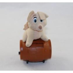 McDONALD's Disney Beauty Dog Angel and the 2 Beige tramp 7 cm