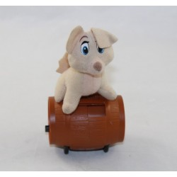 Peluche Ange chienne McDONALD'S Disney La Belle et le clochard 2 beige 7 cm