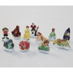 Tarzan DISNEY Bean Set 11 brilliant ceramic beans