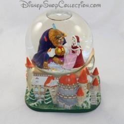 Snow globe musical DISNEY La belle et la bête boule à neige 18 cm