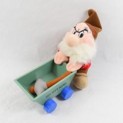 Grumpy dwarf WITH EuroDisney Snow White cart