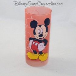 Verre haut Mickey DISNEYLAND PARIS rouge Disney 14 cm