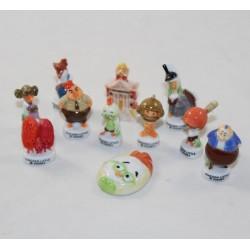 Pollo Piccolo Disney Bean Set 11 brillanti fagioli in ceramica