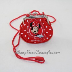Gate plush currency Minnie DISNEYLAND PARIS red black 13 cm
