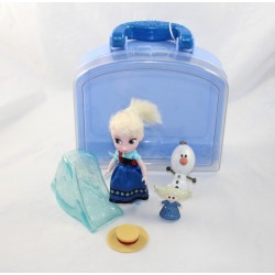 Mini doll playset Elsa DISNEY STORE Animator's Doll The Snow Queen