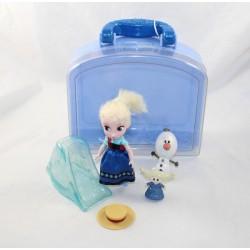 Mini set di giochi di bambole Elsa DISNEY STORE Animatore's Doll The Snow Queen