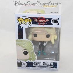 Figura Spider Gwen FUNKO POP Marvel Spider-man en el Spider-verse número 405