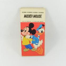 Calendrier vintage Mickey Mouse WALT DISNEY PRODUCTIONS 1972 LYS-B vintage cartes postales