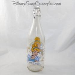 DISNEY Cinderella Princesa Botella de Agua de Vidrio 32 cm