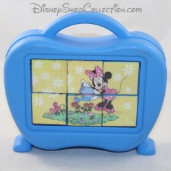 CLEMENTONI Disney Minnie wooden cube puzzle cube from 3 years old