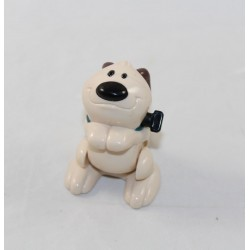 Figure Little Brother dog DISNEY McDonald's Mcdo Mulan beige 6 cm
