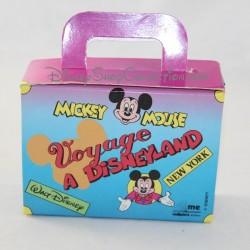 Pequeña maleta de cartón Mickey Mouse viajar a Disneyland Paris Disney 1992