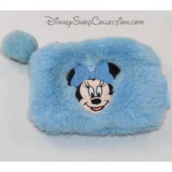 Minnie DISNEYLAND PARIS azul de pelo largo Disney 10 cm