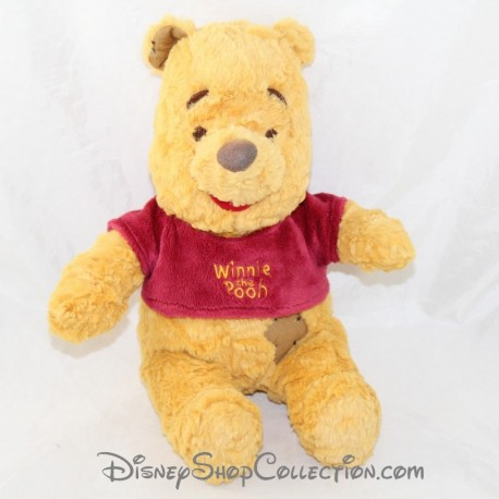 Winnie NICOTOY Disney Winnie the Pooh patched scar sitting 22 cm