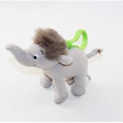 Disney Junior Elephant Peluche Porta Chiave Il Libro della Giungla Grigia 12 cm