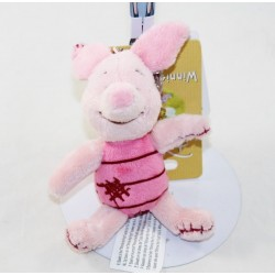 Teddy bear DISNEY NICOTOY pink seams patched 14 cm