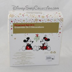 Minis Sketchbook ornaments DISNEY STORE Alice in Wonderland Christmas decoration 5 figurines