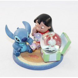 Snow globe Lilo and Stitch DISNEYLAND PARIS cup of Lilo-Stitch snowball tea