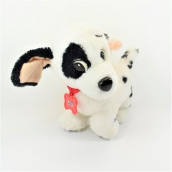 Peluche Patch perro DISNEY Mattel Los 101 dálmatas vintage collar hueso 28 cm