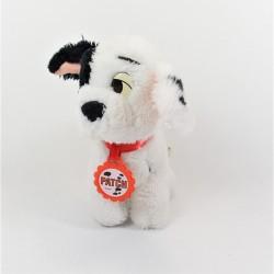 Peluche Patch chien DISNEY Mattel Les 101 dalmatiens vintage collier os  18 cm