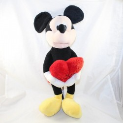 Peluche Mickey DISNEY Play by Play coeur rouge Love St Valentin 45 cm