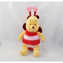 Peluche Winnie DISNEY Nicotoy déguisé en papillon coeur St Valentin 24 cm
