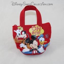 Porte monnaie mini sac enfant DISNEY Mickey, Donald et Dingo Oh Boy 9 cm