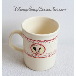 Mug Mickey DISNEYLAND PARIS Mickey Gourmet ceramic mug Disney 10 cm