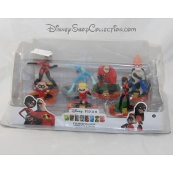Ensemble de figurine DISNEY Les indestructibles Playset 7 figurines