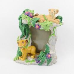 Cadre photo résine Le Roi lion DISNEY Simba et Nala figurine 20 cm