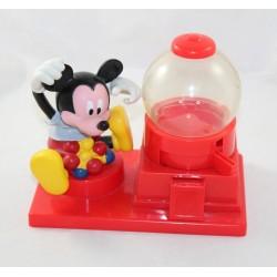 Distributeur Mickey Mouse DISNEY Chewing gum bonbons plastique rouge 20 cm