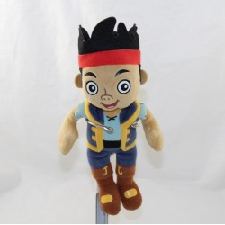 Peluche Jake DISNEY Quiron Famosa Jake et les pirates du Pays imaginaire 23 cm
