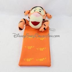 Trousse peluche tigre GATTEGNO Disney Tigrou orange 24 cm