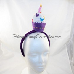 Disneyland PARIS Headband Disney Purple Candle Birthday Headband 26 cm