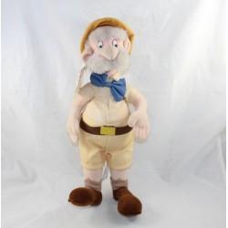 Peluche Professeur Porter DISNEY STORE Tarzan pére de Jane 40 cm