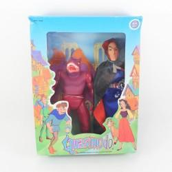 Pack 2 poupées Quasimodo MGM Frollo et une gargouille dessin animé 1996 RARE