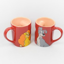 Mug Lady y Tramp DISNEY...