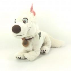 Peluche chien Volt DISNEY Bolt collier Volt Star malgré lui 28 cm