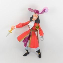 Grande figurine articulée Capitaine Crochet DISNEY Peter pan poupée 30 cm