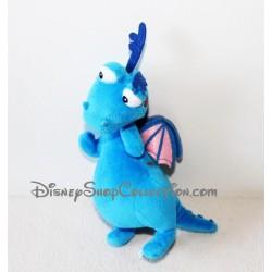 Peluche Toufy DISNEY NICOTOY Docteur la peluche dragon bleu 20 cm