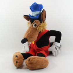 Peluche Grand méchant loup DISNEYLAND PARIS Les 3 petits cochons Disney vintage 60 cm