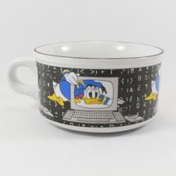 Grand bol Donald DISNEY Studio Moonflower ordinateur noir et blanc céramique