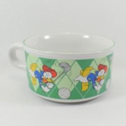 Grand bol Donald DISNEY Studio Moonflower golf vert blanc